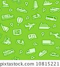 seamless pictogram background 10815221