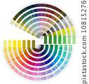 Pantone Color Palette - Semicircle 10815276