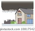 Tornado sign _ black cloud 10817542