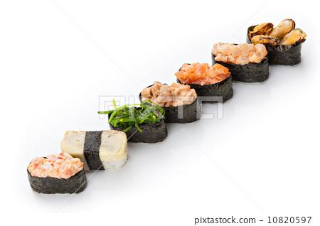 Nigiri sushi set 10820597