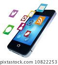 智能手機 應用程序 智慧手機 10822253