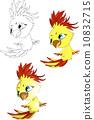 金刚鹦鹉 鹦鹉 卡通 10832715