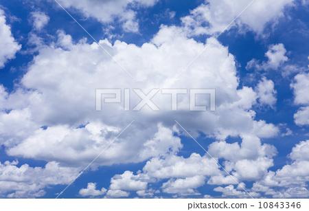 藍天白雲 10843346