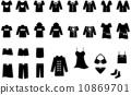 여성 패션 아이콘 세트 10869701