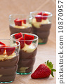 chocolate, glasses, pudding 10870957