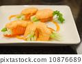 碟 卷 蔬菜 10876689