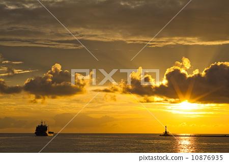 夕陽 10876935