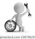 small, mechanic, people 10879629
