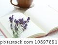 datebook, pocketbook, flower 10897891