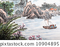 traditional Chinese painting , landscape 10904895