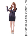 business woman showing something 10904976