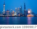 上海外灘夜景 10909817