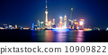 上海外灘夜景 10909822