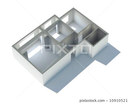 Apartment 3d Plan 10910521