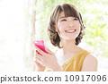 智慧型手機 夫人 女士 10917096