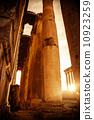 Jupiter's temple  Baalbek, Lebanon 10923259