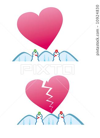 실연, 결혼, 사랑, 고민, 연애, 미래 10924830