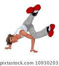 霹雳舞 舞 舞蹈 10930203
