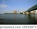 百道滨 河口 江口 10930873