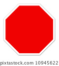 red blank sign 10945622
