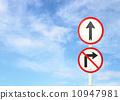 sign, sky, post 10947981