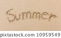 sand text beach 10959549