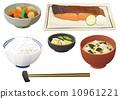 일식, 일본 요리, 된장국 10961221