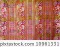 Beautiful fablic patern of thai silk 10961331