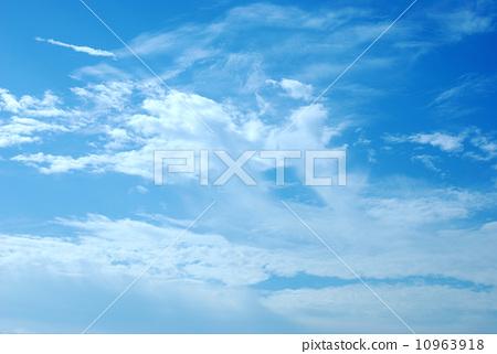 藍天白雲 10963918