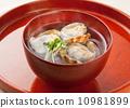 Clam soup 10981899