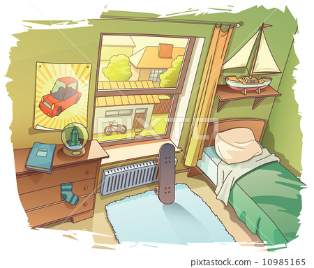 Young Boy's Room 10985165