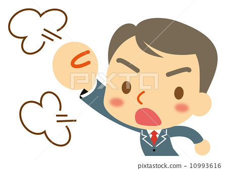 Businessman get angry 10993616