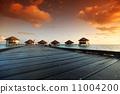 sunset, paradise, travel 11004200