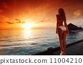 sunset, paradise, vacation 11004210