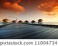 sunset, paradise, vacation 11004734
