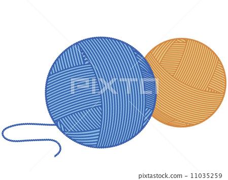 Yarn ball 11035259