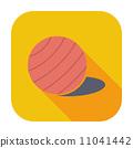 Fittball single icon. 11041442