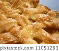 Baked apple pie 11051293