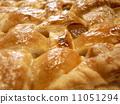 Baked apple pie 11051294