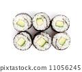 Sushi maki with cucumber 11056245