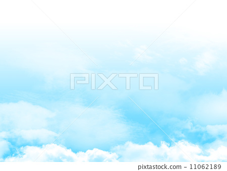 Blue sky and clouds 11062189