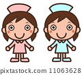 nurse, registered nurse, vector 11063628