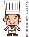 chef, cook, vector 11063787
