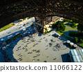 People under Eiffel tower 11066122