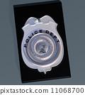 侦探 警察 徽章 11068700