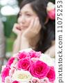 ช่อดอกไม้ (ช่อคลัชทำจากกุหลาบแท้) 11075253