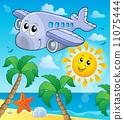 aircraft, travel, transportation 11075444