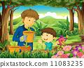 drawing, boys, image 11083235