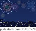 cityscape, pyrotechnics, firework 11086579