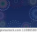 backdrop, pyrotechnics, firework 11086580